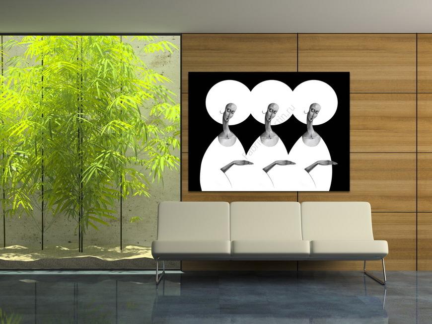 Картина BLACK AND WHITE
