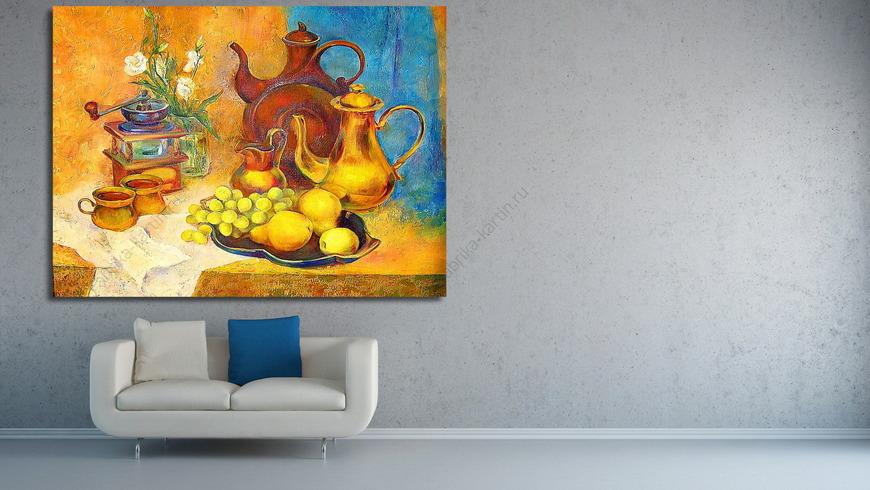 Картина Золотой натюрморт